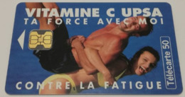 "Télécarte - Vitamine C ""UPSA"" - Advertising"