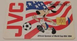 Télécarte - JVC - Advertising