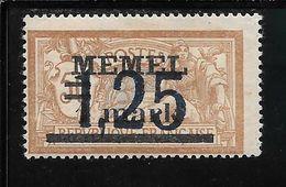 MEMEL N°43 * TB SANS DEFAUTS - Memel (1920-1924)