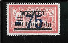 MEMEL N°42 * TB SANS DEFAUTS - Memel (1920-1924)