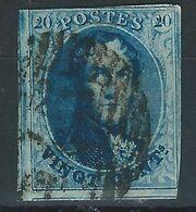 RR-/-049.- N° 11,  Obl. , SANS FILIGRANE  -  Cote 10.00 €  - IMAGE DU VERSO SUR DEMANDE - 1858-1862 Medallions (9/12)