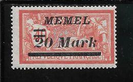 MEMEL N°90 * TB SANS DEFAUTS - Memel (1920-1924)