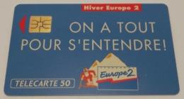Télécarte - EUROPE 2 - Advertising