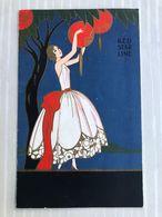 RED STAR LINE: Entertainment Programme Ss Minnetonka 1933 Cabaret Concert - Menükarten