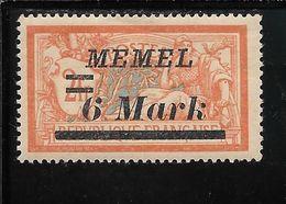MEMEL N°63 * TB SANS DEFAUTS - Memel (1920-1924)