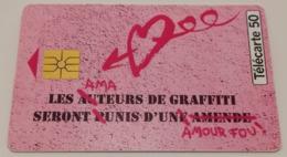 "Télécarte - NAF NAF ""Parfum Graffiti"" - Mode"