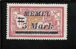 MEMEL N°62 * TB SANS DEFAUTS - Memel (1920-1924)