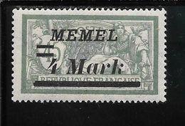 MEMEL N°72 * TB SANS DEFAUTS - Memel (1920-1924)