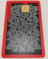 """Télécarte - Aspirine """"OBERLIN"""" - Advertising"""