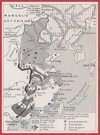 Guerre Sino-japonaise (1937-1945). Seconde Guerre Mondiale. Chine-Japon. Larousse 1960. - Documenti Storici