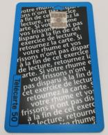 """Télécarte - Fervex """"OBERLIN"""" - Advertising"""