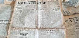 ACTION FRANCAISE/POLICE POLITIQUE DAUDET /MAURRAS /CLAUDE ROY /BRASILLACH - Giornali