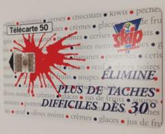 """Télécarte - Lessive """"SKIP"""" - Advertising"""