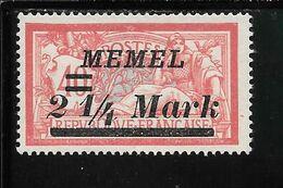 MEMEL N°70 NSG TB SANS DEFAUTS - Memel (1920-1924)