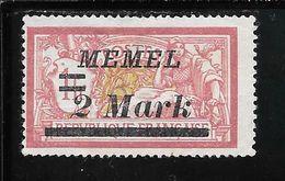 MEMEL N°60 NSG TB SANS DEFAUTS - Memel (1920-1924)