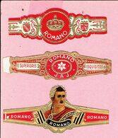 Sigarenband - ROMANO - 3 Stuks - Sigarenbandjes