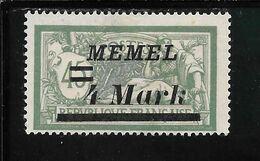 MEMEL N°72 NSG TB SANS DEFAUTS - Memel (1920-1924)