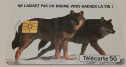 """Télécarte - """"Humex"""" - Laboratoire """"FOURNIER"""" - Advertising"""