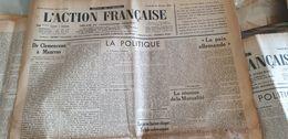 ACTION FRANCAISE/CLEMENCEAU MAURRAS LEON DAUDET /ESPAGNE GUERRE TERUEL / - Giornali
