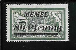 MEMEL N°56 NSG TB SANS DEFAUTS - Memel (1920-1924)