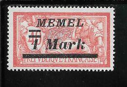 MEMEL N°57 NSG TB SANS DEFAUTS - Memel (1920-1924)