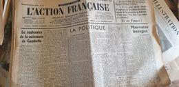ACTION FRANCAISE/ GAMBETTA LEON DAUDET /MAURRAS / DELEBECQUE/ CAGOULE - Giornali