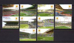 Portugal 2004 Football Soccer European Championship Set Of 10 MNH - UEFA European Championship