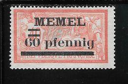MEMEL N°24 NSG TB SANS DEFAUTS - Memel (1920-1924)