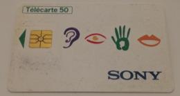 Télécarte - SONY - Advertising