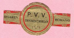 Sigarenband - ROMANO Sigaren - P.V.V. TESSENDERLO - Sigarenbandjes