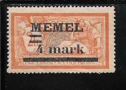 MEMEL N°31 NSG TB SANS DEFAUTS - Memel (1920-1924)