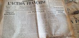 ACTION FRANCAISE/ ASSASSINAT JUIF RATHENEAU / - Giornali
