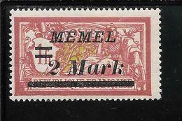 MEMEL N°60 ** TB SANS DEFAUTS - Memel (1920-1924)