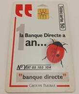 "Télécarte - Banque ""PARIBAS"" - Advertising"