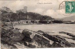 CPA       83    LA PLAGE DE BOULOURIS - Boulouris