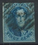 GG-/-259.- N° 11,  Obl. , SANS FILIGRANE  -  Cote 10.00 €  - IMAGE DU VERSO SUR DEMANDE - 1858-1862 Medallions (9/12)