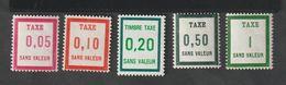 Fictif - Emission 1961    -  FT10 -  FT14     - Timbre -Taxe    -     Neufs  Sans Charnière - Unclassified