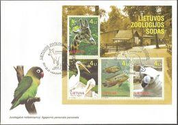 2425 - Lithuania - 2011 - Lithuanian Zoo - FDC - Lemberg-Zp - Lithuania