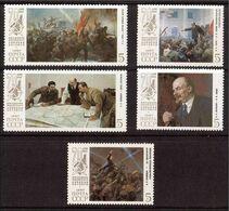 1987  Mi.5748-52 (**) - 1923-1991 USSR