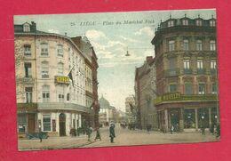 C.P. Liège =  Place  Maréchal  Foch - Liege