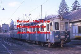 Reproduction D'unePhotographie D'un Tramway Local N°40 VBW à Berne En Suisse En 1970 - Photographie