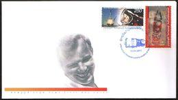 2430 - N. Karabakh - 2011 - 50 Y 1st Human's Space Flight Gagarin - FDC - Lemberg-Zp - Briefmarken