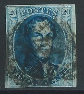PP-/-052.- N° 11,  Obl. , SANS FILIGRANE  -  Cote 10.00 €  - IMAGE DU VERSO SUR DEMANDE - 1858-1862 Medallions (9/12)