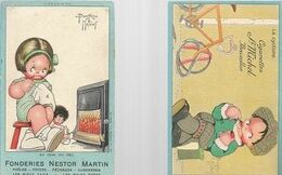 0808/ N/    BEATRICE MALLET   CIGARETTES ST MICHEL   2X - Illustrators & Photographers