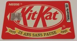 Télécarte - KITKAT - Alimentazioni