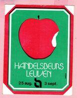 Sticker - HANDELSBEURS LEUVEN - Autocollants
