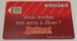 Télécarte - Sauce BUITONI - Alimentazioni