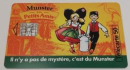 Télécarte - MUNSTER - Les Petits Amis - Alimentazioni