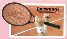 Sticker - BrowninG For Winners Only - Autocollants