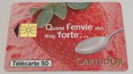 Télécarte - Glace CARTE D'OR - Alimentazioni